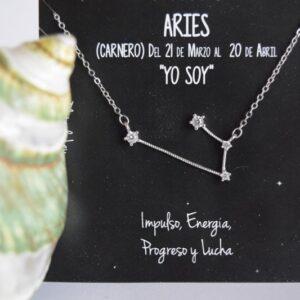 Colgante de Plata Constelación Aries