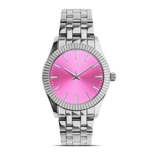 Reloj Mujer Pura Alegría Esfera Rosa