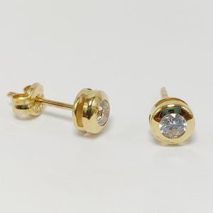 Pendientes Oro Amarillo 5 mm