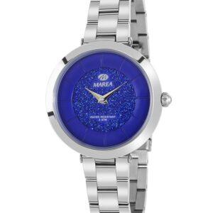 Reloj Marea Metálico esfera Azul