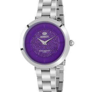 Reloj Marea Metálico esfera Lila