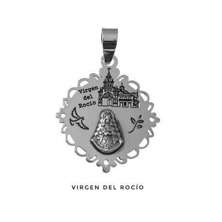 Colgante Virgen del Rocío