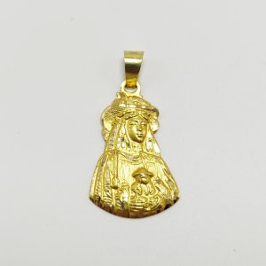 Medalla de Oro Amarillo Virgen del Rocío Pastora