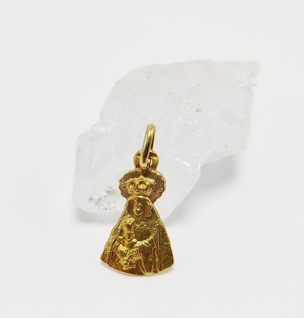 Medalla de Oro Amarillo Virgen de Palomares