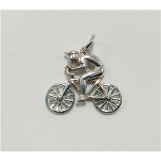 Colgante Bicicleta Plata