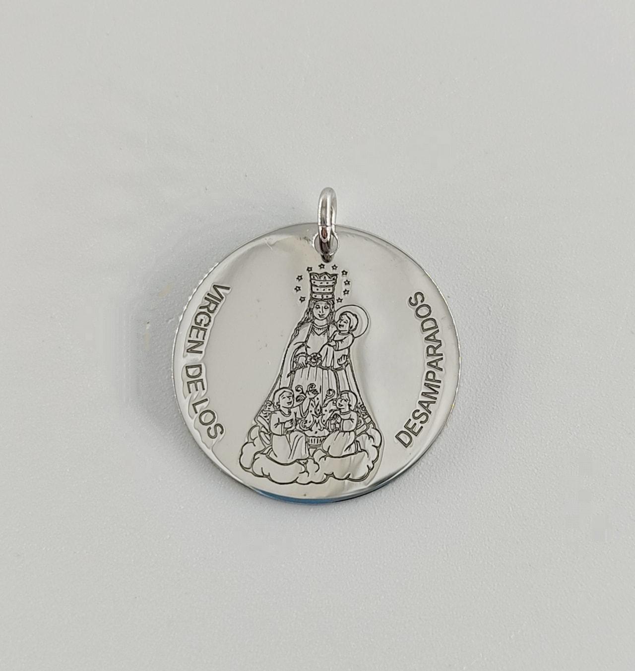 Medalla Virgen de los Desamparados