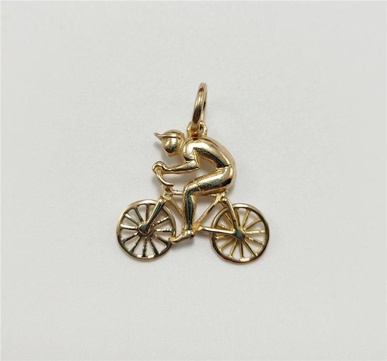 Colgante Bicicleta Oro