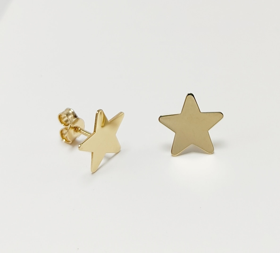 Pendientes Estrella Oro Amarillo Mujer