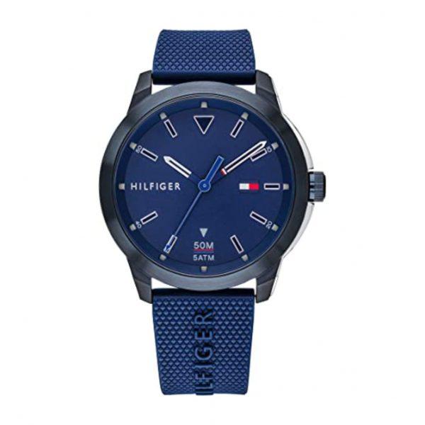 reloj Tommy Hilfiger Caucho Azul