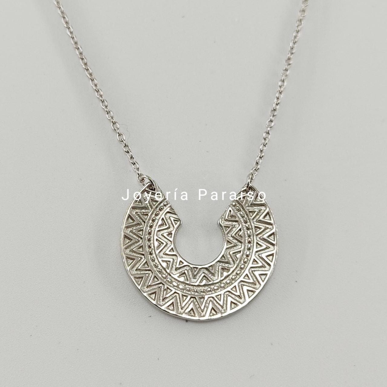 Gargantilla Plata Azteca