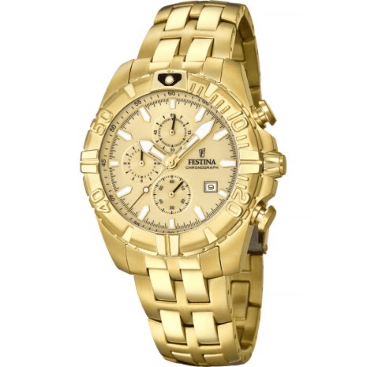 Reloj Festina Dorado Hombre