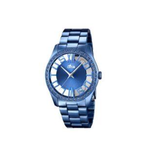 Reloj Lotus Mujer Acero Azul