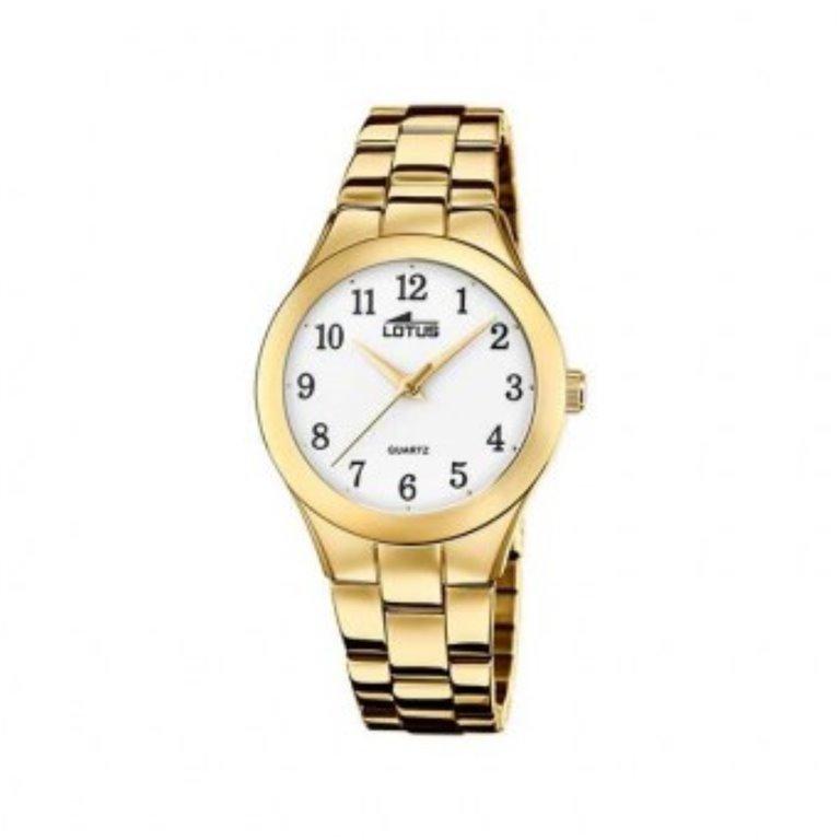 Reloj Lotus Mujer Chapado Oro