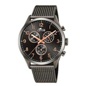 Reloj Lotus Hombre Malla Milanesa