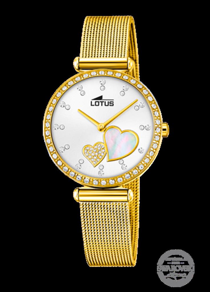 Reloj Lotus Mujer Corazones