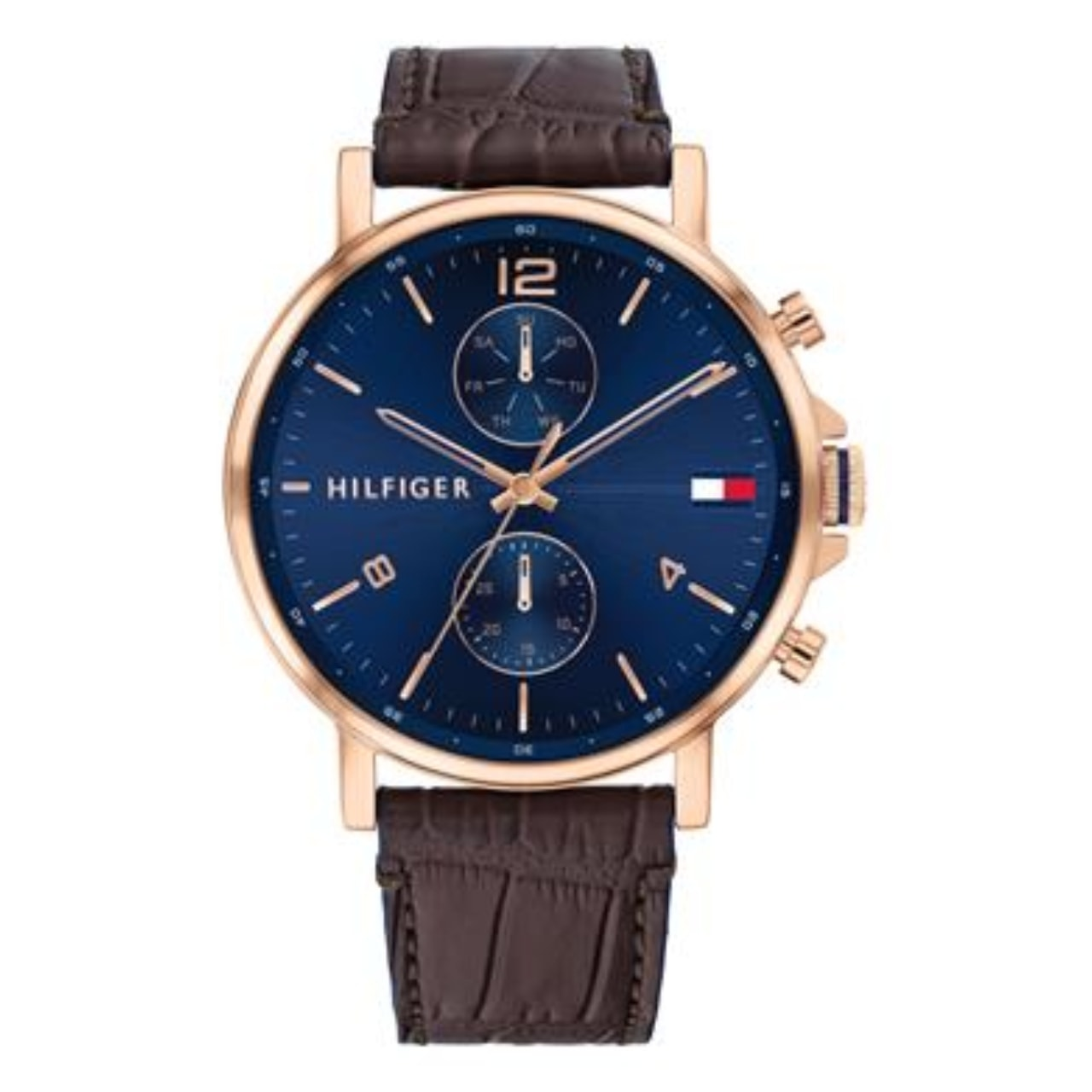 Reloj Tommy Hilfiger Piel Esfera Azul