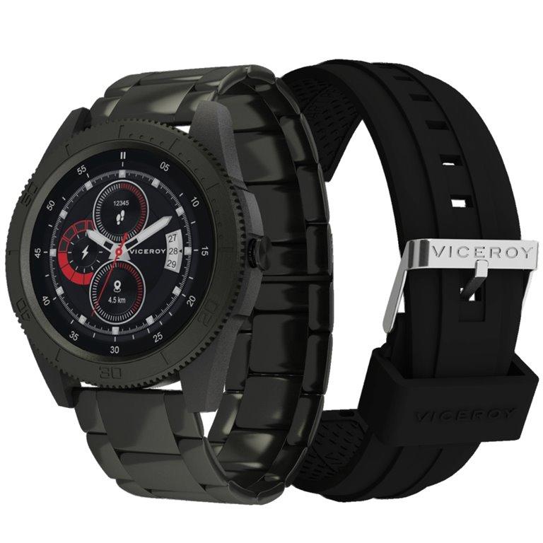 Reloj Negro Viceroy Hombre Smart Pro Sport