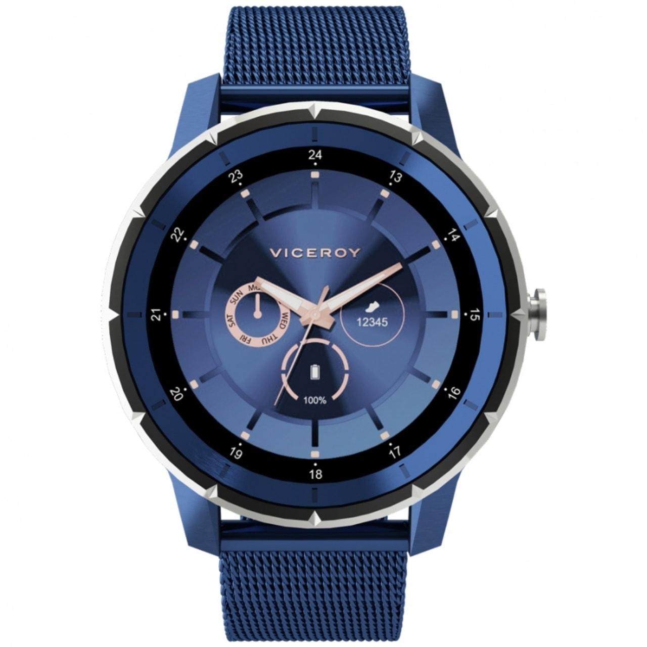 Reloj Viceroy Azul Hombre Smart Pro Océano