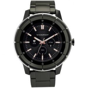 Reloj Negro Viceroy Smart Pro Negro Eslabones
