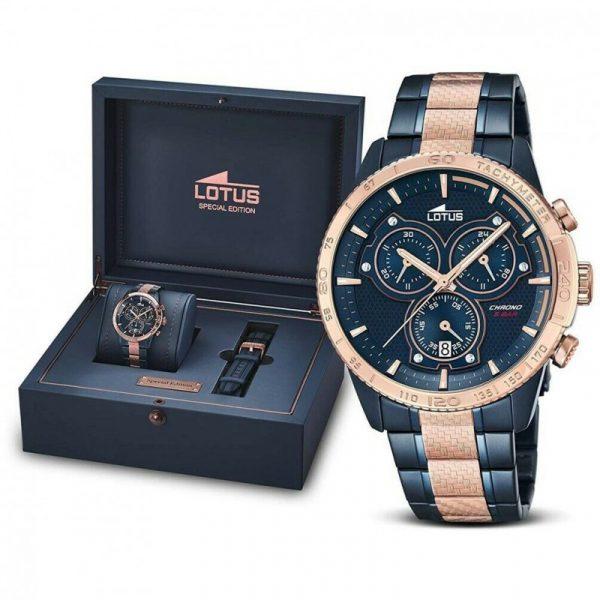 Reloj Lotus Edición Especial Doble Correa